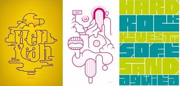 """共用法""""笔画公用""""是文字图形化创意设计中广泛运用的形式.文字"""