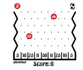 盘下降,可以用鼠标控制球代码