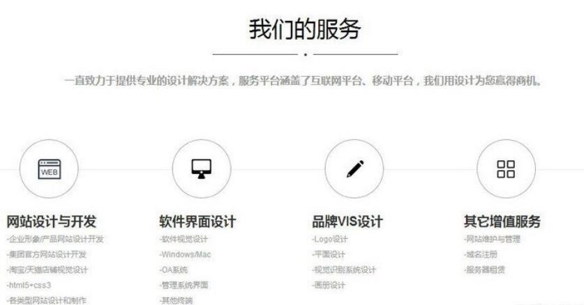 大气精致HTML5网络公司网站源码 【站长聚集地首发】织梦CMS